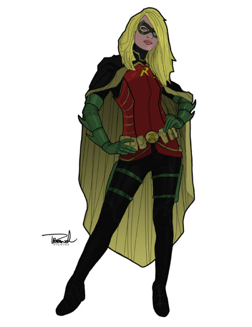 gothamisthedarknight:  cosplaycomicsmusic: Robin/Stephanie Brown by Thomas Branch