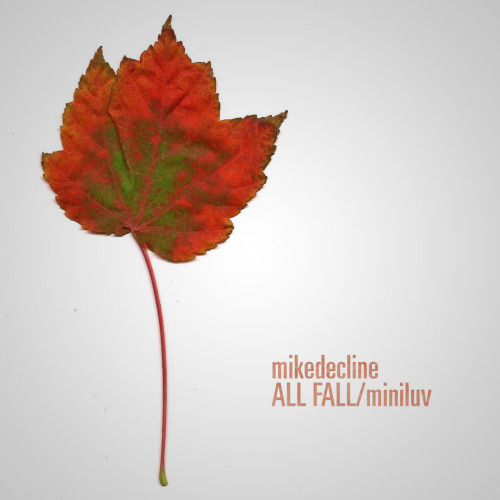 "The workhorse is back! mikedecline has released an autumn inspired beat mix for the masses! Come grab ""ALL FALL/miniluv"" and enjoy what's left before the winter destroys all the beautiful leaves (if it hasn't already done so for you!)"