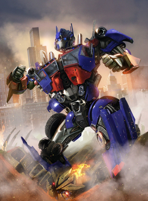 because-of-the-heart:  Optimus Prime - by `DanLuVisiArt