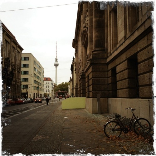 Roaming through Berlin.