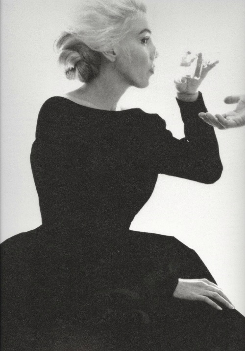 Marilyn by Bert Stern in June 1962.