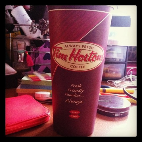 So much #coffee for only $2 #timhortons #timmies #canadian