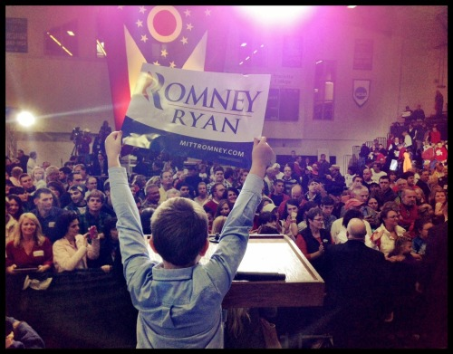 Paul Ryan's youngest, Sam at the podium!