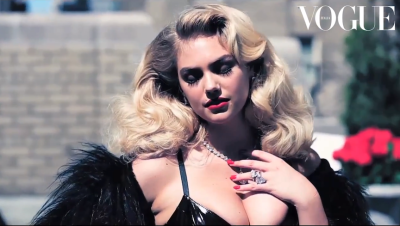 Kate Upton for Vogue Italia [Dec 2012]see more here