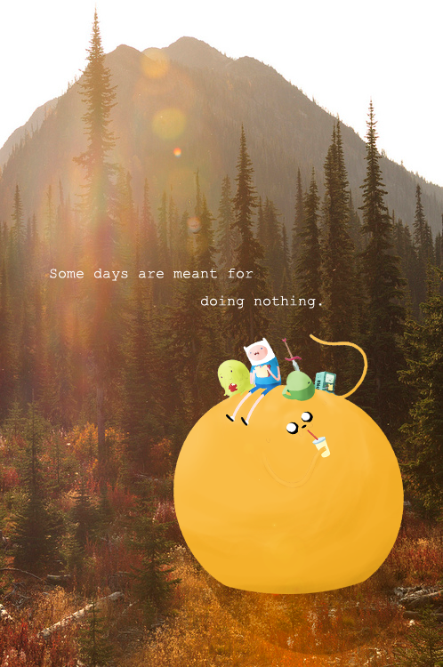 Finn & Jake  - The day off