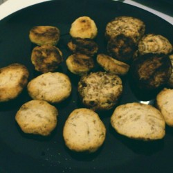 Ugly but tasty vegan biscuits #vegan #veganfoodshare #biscuit