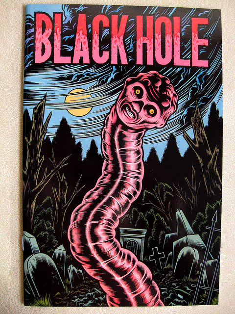 Black hole #3 (Charles Burns)
