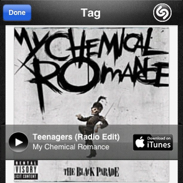 Flashback. #nowplaying #shazam