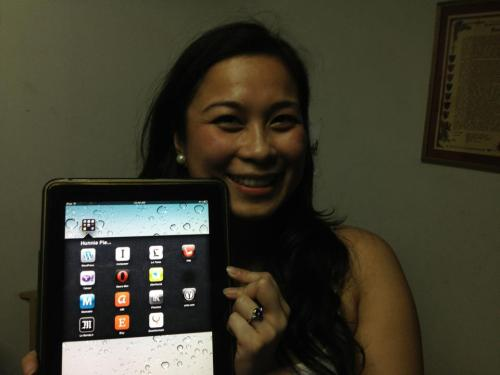 Awesome Wedding Proposal Using iPad Apps!! Congratulations :D