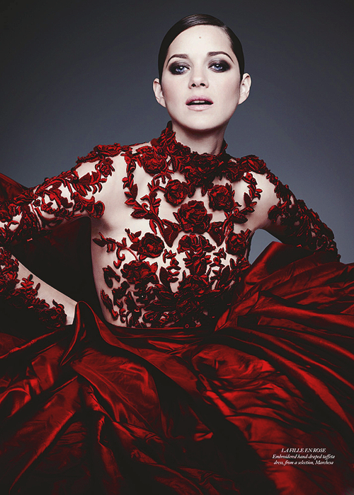 Marion Cotillard for HARPER'S BAZAAR UK 2012