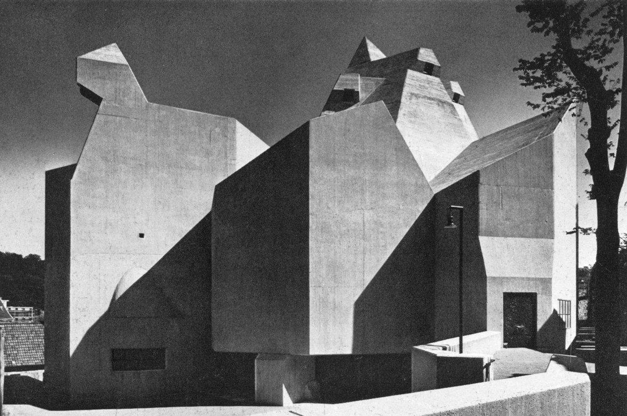 Pilgrimage Church, Neviges, Germany, 1965-68 (Gottfried Böhm)
