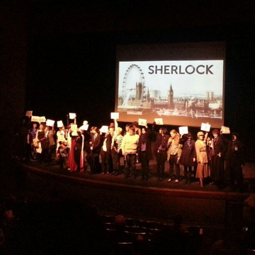 Sherlock cosplay contest