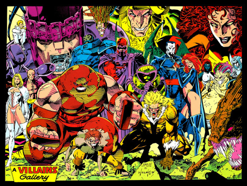 patloika:  X-Villains by Jim Lee and Scott Williams.  …and yes, that is Loki at the back.
