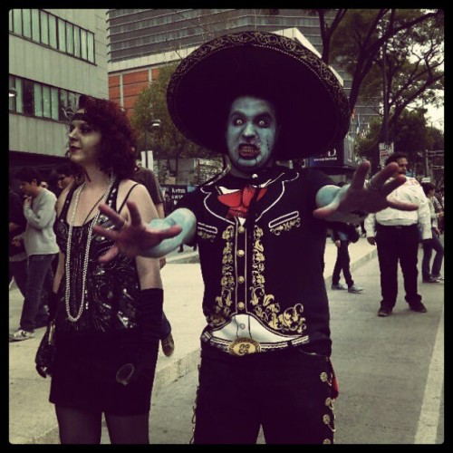#zombiewalk #mexico 2012