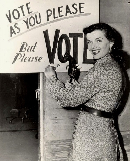 myvintagevogue:  Since 1920 women have had the right to vote in this country no matter who you are voting for ladies make your voice heard  classic - vote !