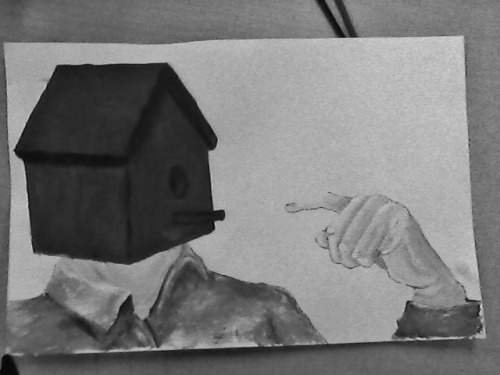 Almost done.. btw does the hand look too large?