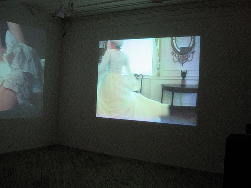 Roxana Perez-Mendez, 'Larga Distancia, Memoria Corta', two channel video installation