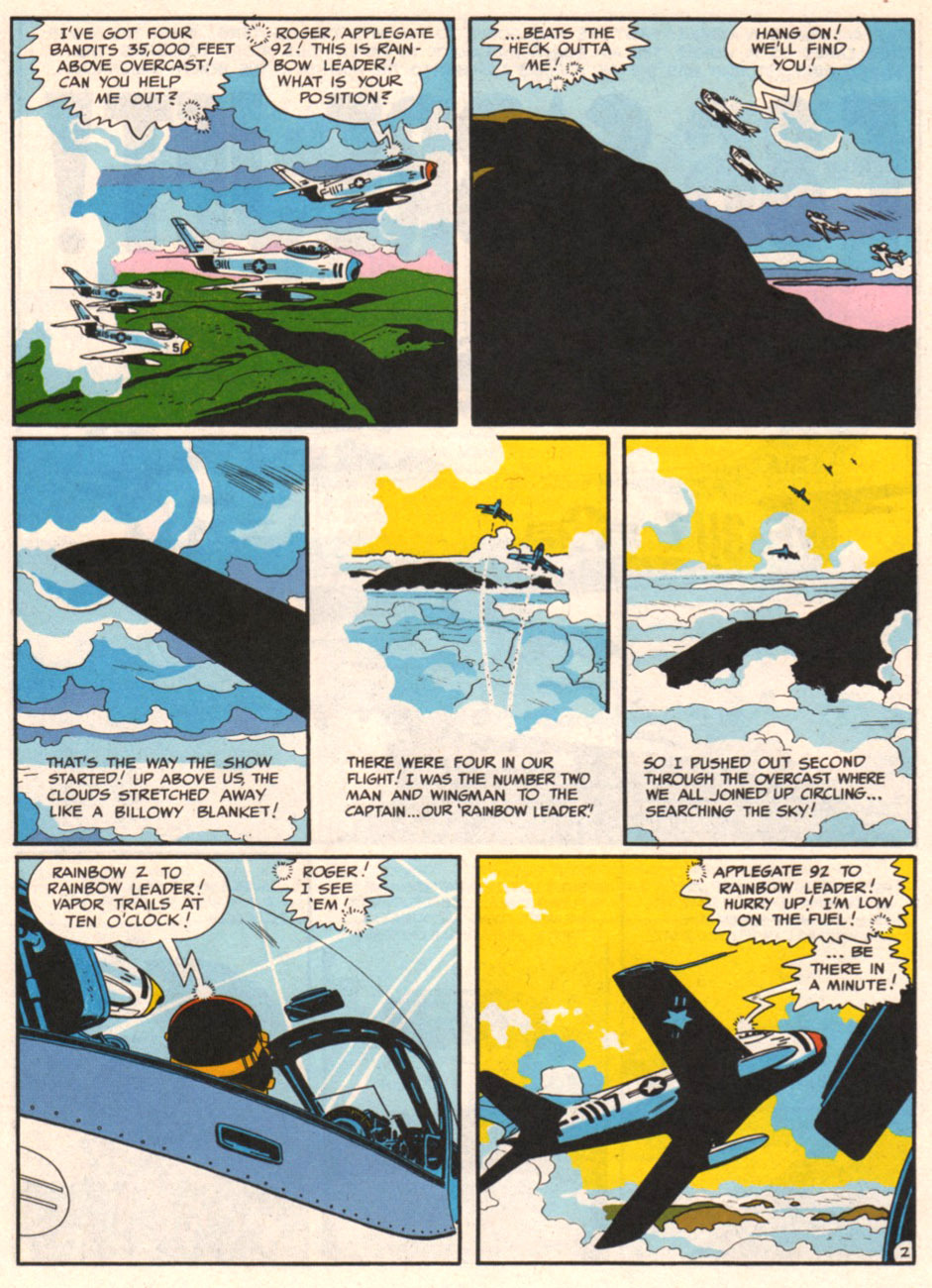 tothlove:    F86 Sabre Jet - Harvey Kurtzman and Alex Toth page 2