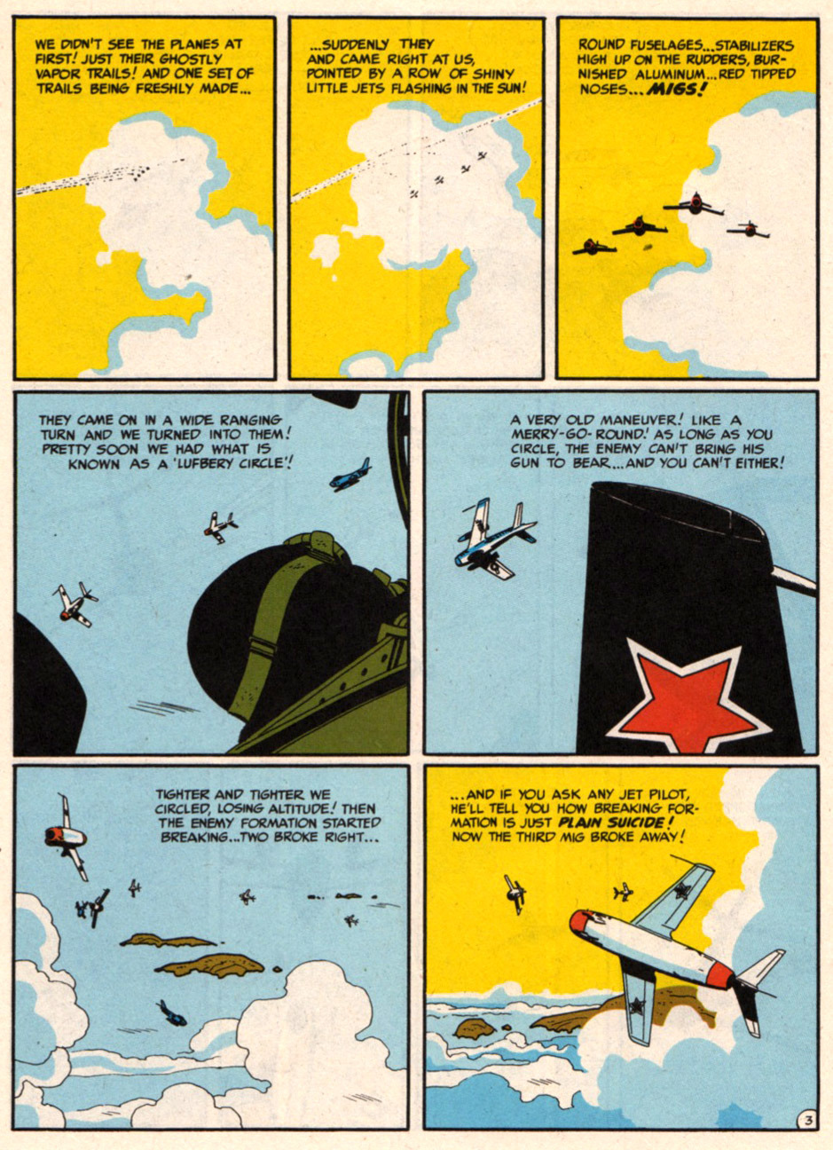 tothlove:    F86 Sabre Jet - Harvey Kurtzman and Alex Toth page 3