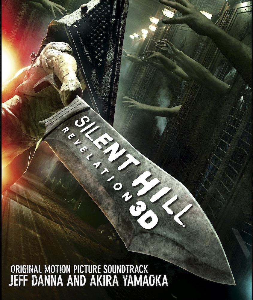 silenthillrevelation:  Silent Hill: Revelation 3D Original Soundtrack (OST) 01. Silent Hill Revelation02. Early Birthday Present03. Armless / The Missionary Attacks04. Vincent and Heather Open the Box05. Born and Raised In Silent Hill06. Heather in the Fog World07. Alessa's Mother/No Ordinary Spider08. Vincent Condemned09. Master of the Order10. Red Pyramid / The Nurses11. The Carousel / Red Pyramid Battles the Missionary12. Lost Souls13. Rain of Brass Petals (Three Voices Edit)14. Silent Scream