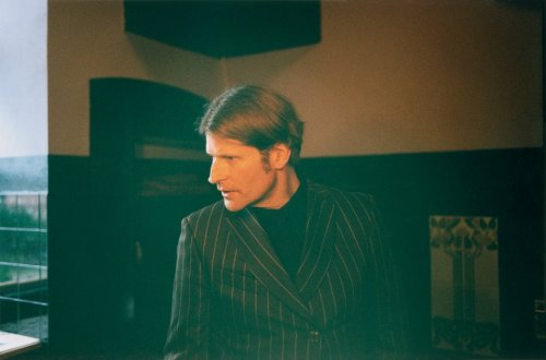 Crispin Glover, photographed at his chateau in the Czech Republic by Niall O'Brien for AnOther Man Magazine (2012).