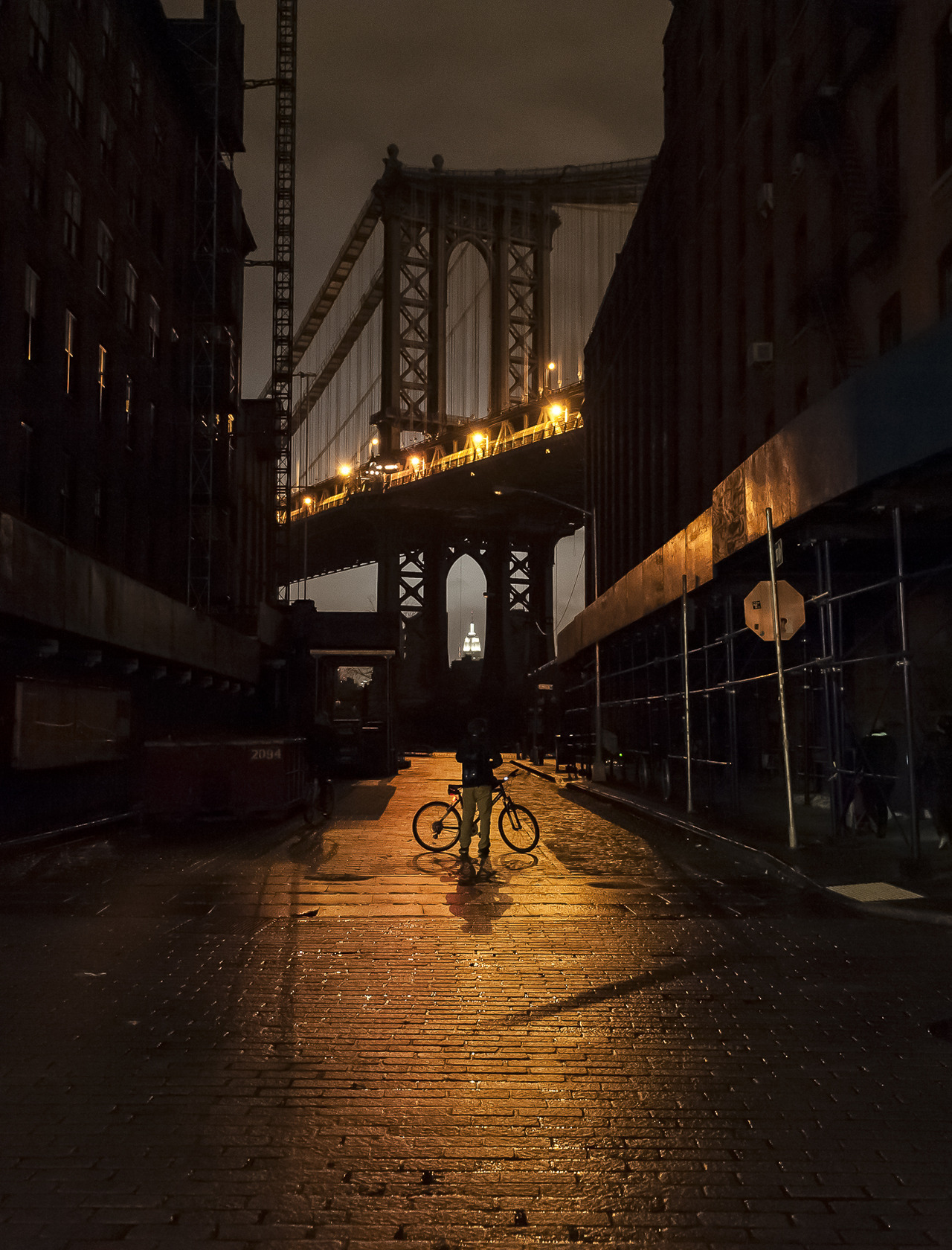 Night Photography during New York City Post-Sandy Blackout