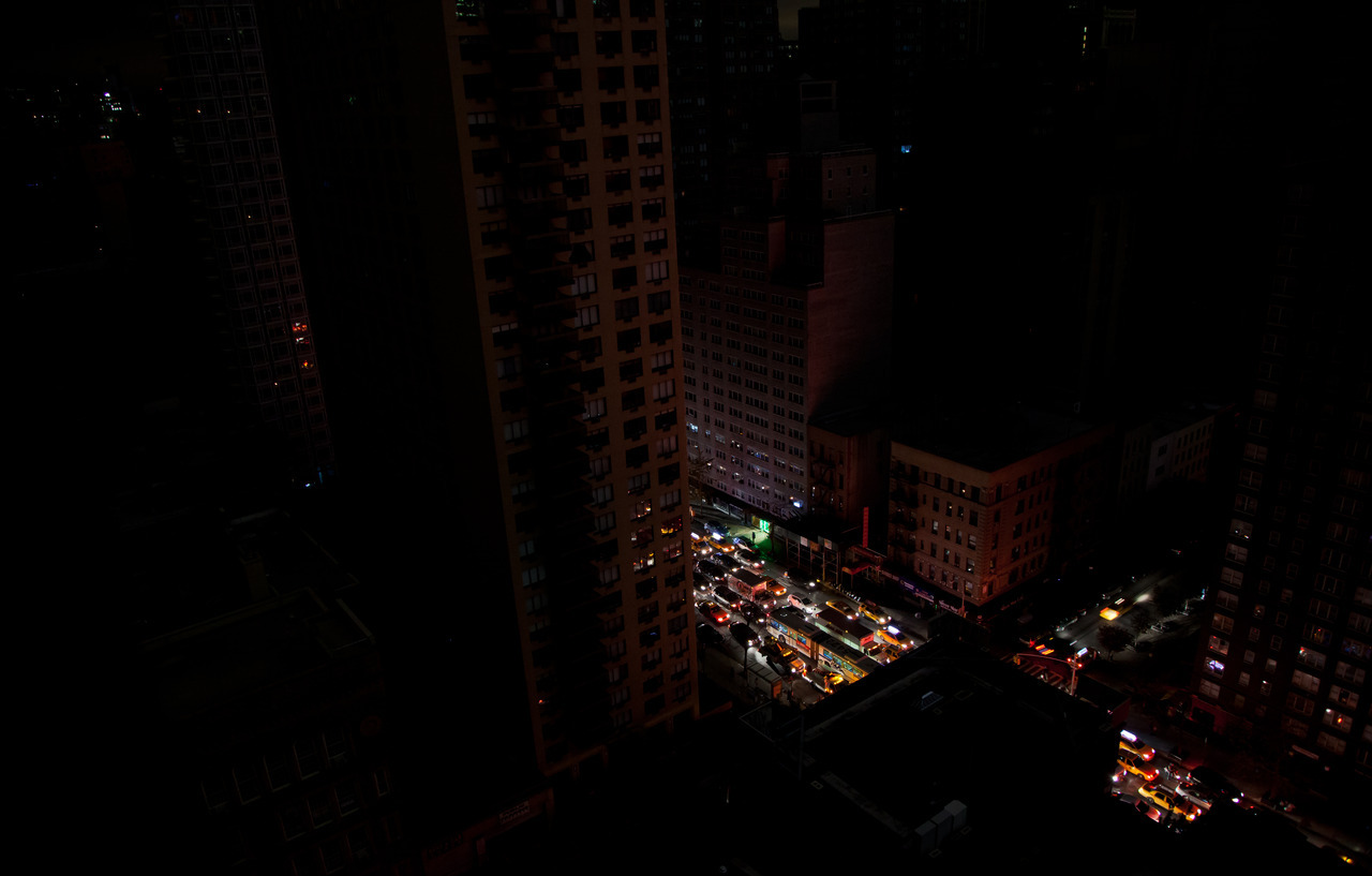 Sandy Nights A glimpse at life in Manhattan after dark, following Hurricane Sandy.  Observe More on Flickr