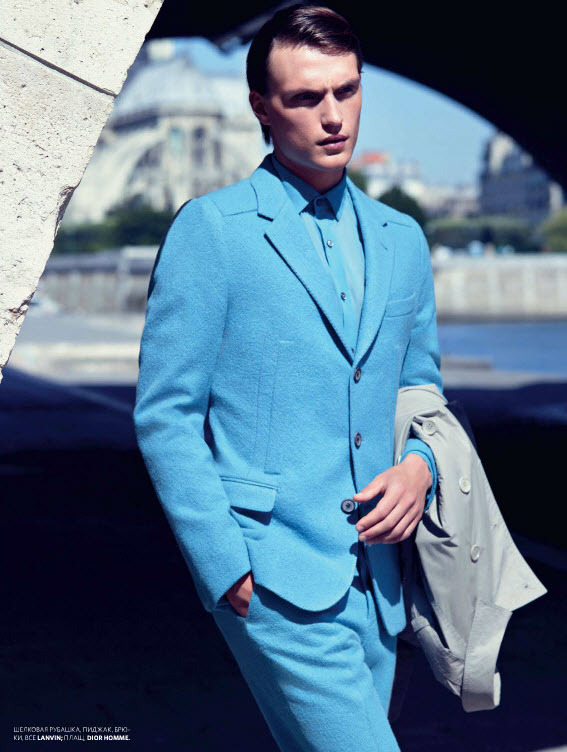 mensfashionworld:  Adrien Brunier by Jair Stez for GQ Style Russia