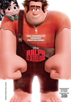 Movies I've Seen in 2012 192.  Wreck-It Ralph (2012) Starring:  John C. Reilly, Sarah Silverman, Jack McBrayer  Director:  Rich Moore Rating:  ★★★★/5