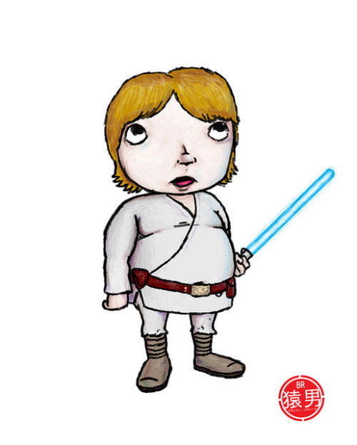 """Skywalker"" ©2012 Brian Richard / MonkeyManWeb.com"