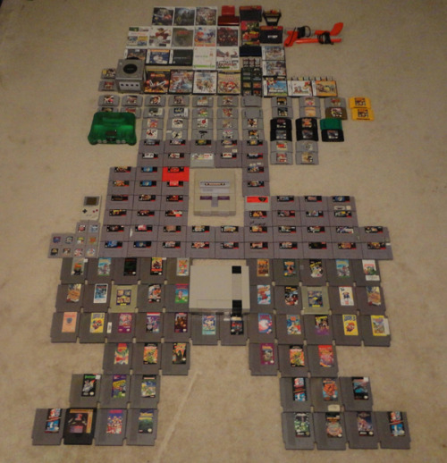 dorkly:  Mario Made Out of Nintendo Products Now we just need another ten thousand WiiU games to finish World 1-1.