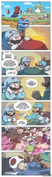 dorkly:  Mario's Nightmare
