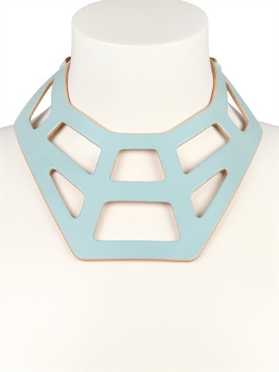 (via FLEET ILYA - WEB COLLAR NECKLACE - LUISAVIAROMA - LUXURY SHOPPING WORLDWIDE SHIPPING - FLORENCE)
