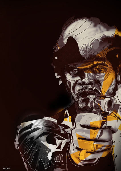 Pulp Fiction - by Yoaz Prints available at Society6