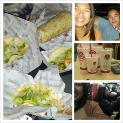 Fun day with @darryl42 @jennifernguyen1 @lisanguyen_xoxo #chronictaco #shrimp #taco #burrito #steak #nicklenickle #jambajuice #dirtyorgasm #fruitypebbles #strawberrywhirl #berry #instagood #instayummy #instamood #igaddict #igdaily #instafun #instafood #wheredidmyeyesgo by jgalafate7 http://instagr.am/p/RmKtpzqrkG/