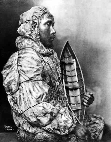 Inuit Seal Skin Waterproof Parka. Where it all began …