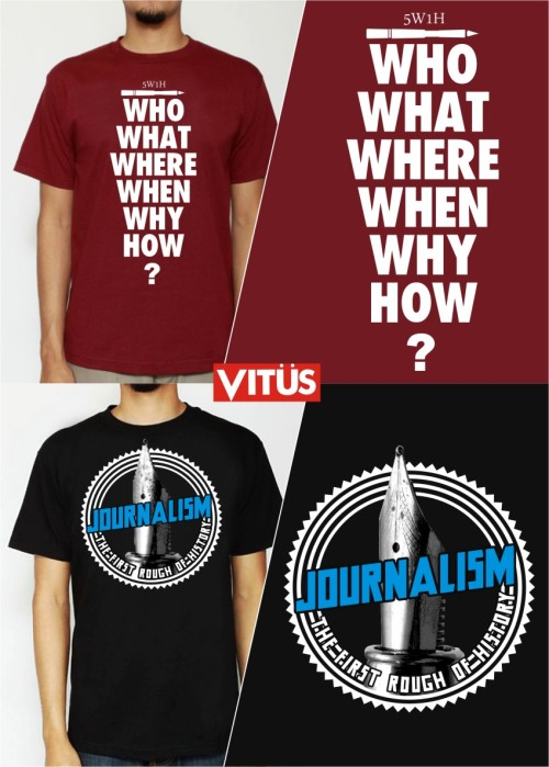 Cool shirts for Journalism majors.