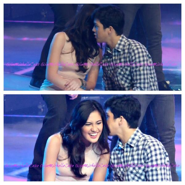 "opalite-aq:  @imMichelleCabz: Excerpt from my fancam!:""> #JuliElmo Jusko Lord! Oxygen! They are really back! #JULIELMOisBACK"