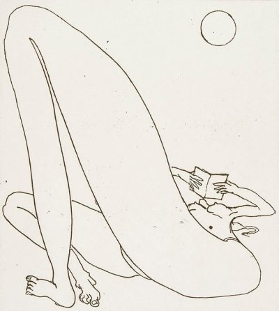 hnnhmcgrth:  A Day at Bondi, Brett Whiteley, 1984