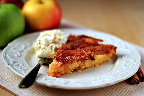 magic-pasta:  apple cake