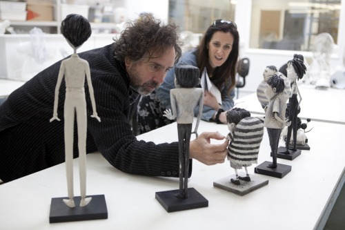 #Frankenweenie - Tim Burton behind the scenes