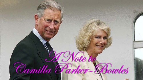 Your Royal Highness, Duchess of Cornwall, Due to an unfortunate clerical error, wherein a clerk was unsure of your heritage, you have been registered to run in this week's Melbourne Cup, instead of the originally agreed upon presenting of the cup. Unfortunately at this late stage we are unable to rectify this error or change the draw, so your presence is required in barrier 6 this Tuesday. You will be required to organise a jockey. Regards, Henry Denton Spring Carnival Racing Council