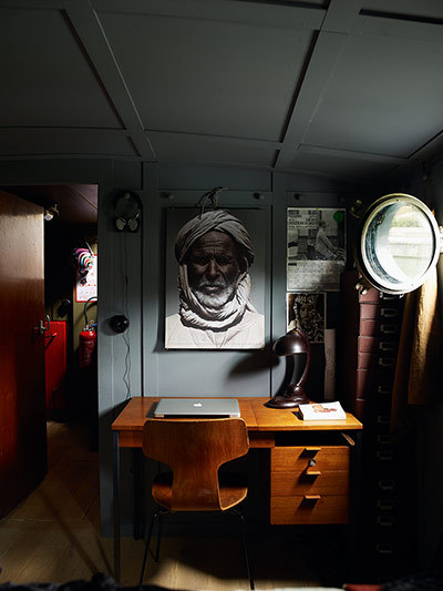 Source: Guardian Who says a houseboat has to look like a houseboat? This is awesome.