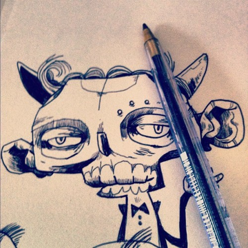 Doodling with my 2 favourite pens, No.1: Cheap-Biro Imp