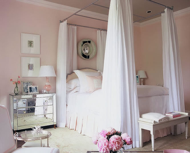 Pretty in Pink bedroom!