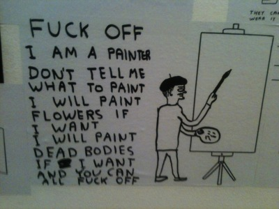 snowce:  David Shrigley