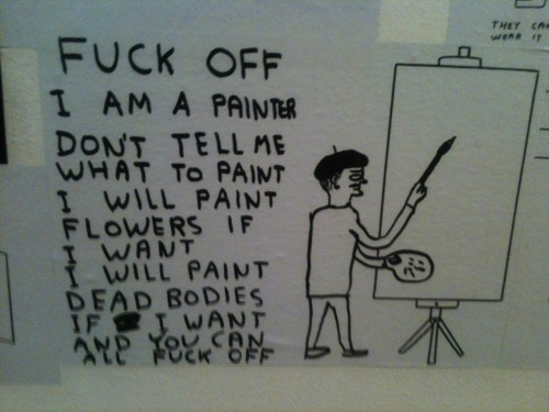 bootyregrit:   David Shrigley