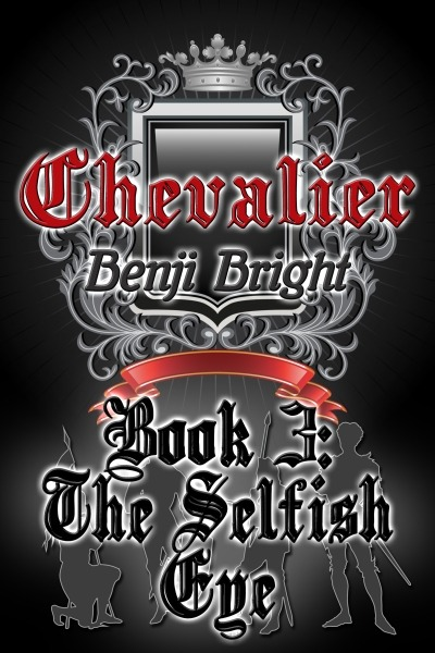 Chevalier Book 3: The Selfish Eye by Benji Bright now available in e-book format! There are tales of dashing knights and blushing ladies, and there are stories of bravery bound to become legend. Then there's the life of a mercenary.Four swords-for-hire — Giovanni, the supposed magician; Solister, the armored giant; Casic, the virtuous fighter; and Farrbiner, the drunken healer — try to make their pockets heavy and their grief light. On their way to fame and fortune, or maybe just notoriety, they encounter every twist and turn the criminal underworld can throw at them. In a world full of double-crosses and shady motivations, can't a man just find a warm place to thrust his sword?In Book 3: The Selfish Eye, Giovanni leads the company to the city of Akhern, the central hub of scholars and practitioners of magic. In order to help a fellow scholar, he'll have to face his past and navigate the dangerous world of trafficking with spirits. Will Giovanni's wits protect him, or will he find himself wishing he'd never come home? Excerpt & Buy Link.