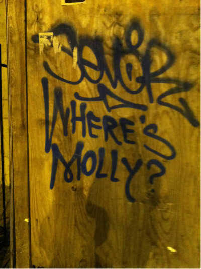 megustamonos:  Where is Molly?  :)
