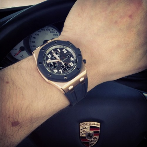 thewatchspotter:  German meets Swiss. Double knockout👊👊  Mena